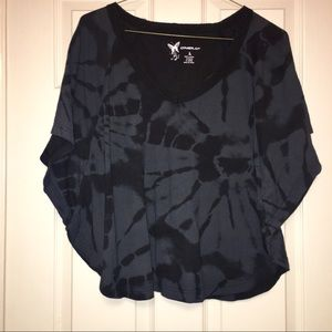 Black tie dyed print top by O'Neill